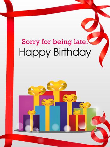 sorry i missed your big day happy birthday pinterest rh pinterest com Free Halloween Clip Art October Birthday Clip Art Free