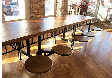 Industrial Cafeteria Table 12 Seater Cafeteria Table Table Wrought Iron Table