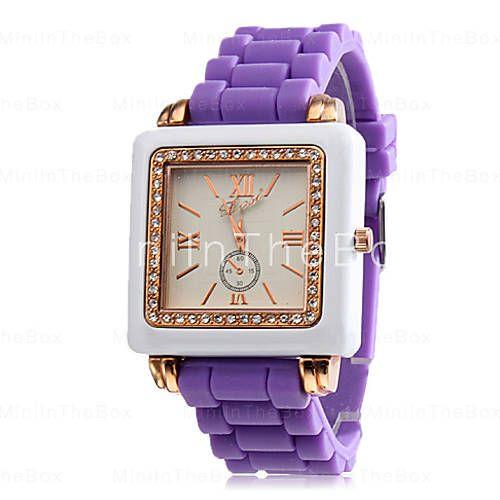 Pin De Glenda Keile En Relojes Carteras Y Zapatos Cuarzos Colores Reloj De Pulsera Casual Mujer