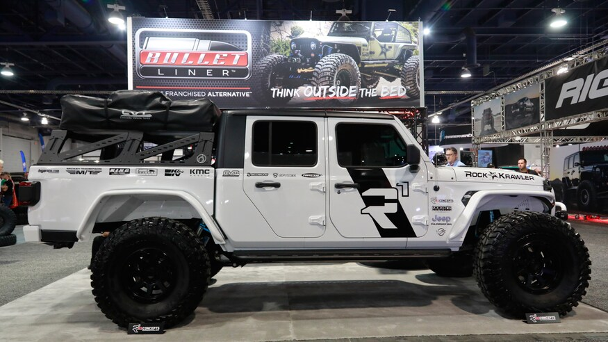 Mega Gallery The Custom Jeep Gladiator Jt Builds Of Sema 2019 Jeep Gladiator Custom Jeep Jeep