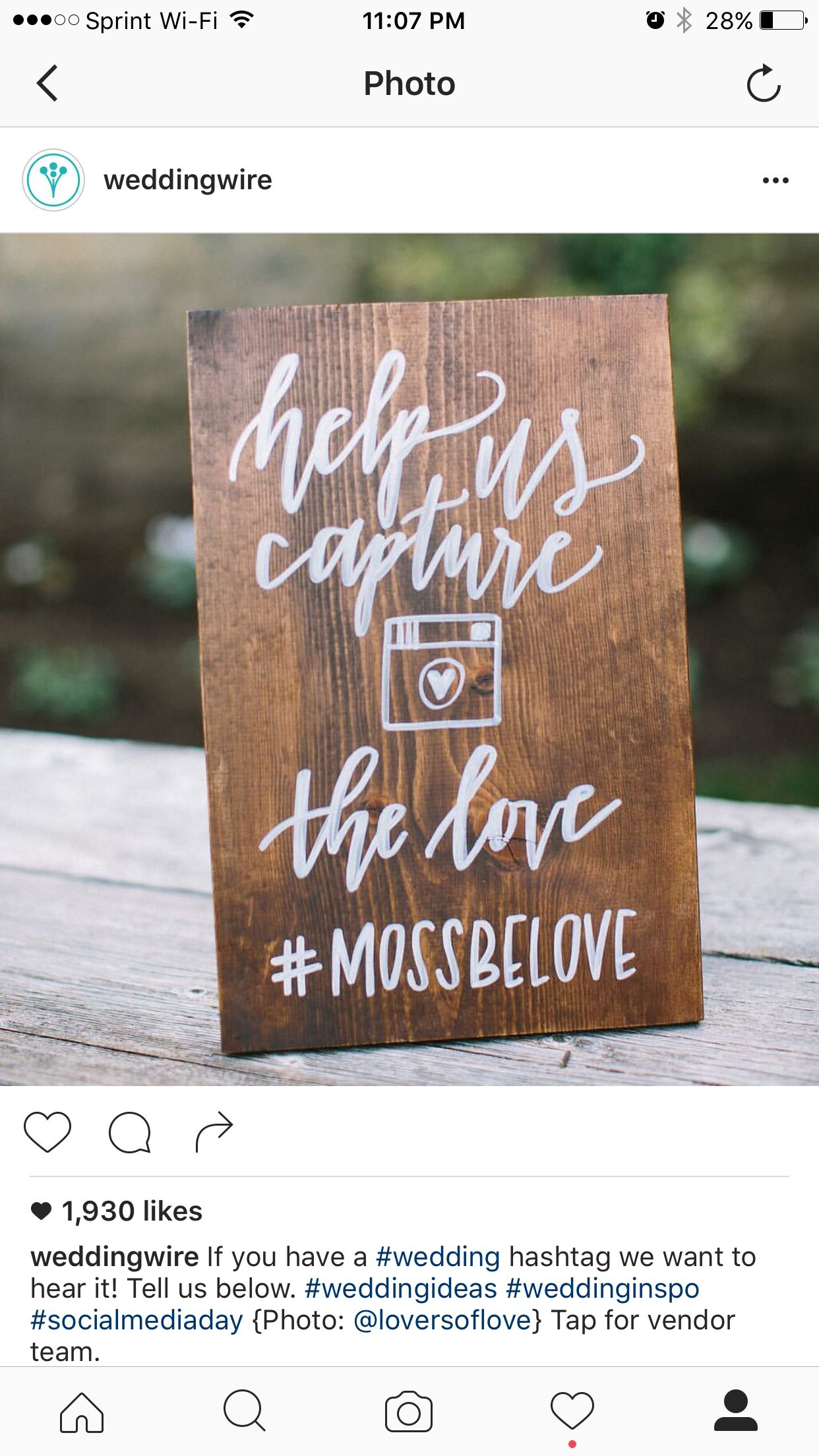 Shoot And Share It Rustic Chic Calligraphy Sign Of Love Photography