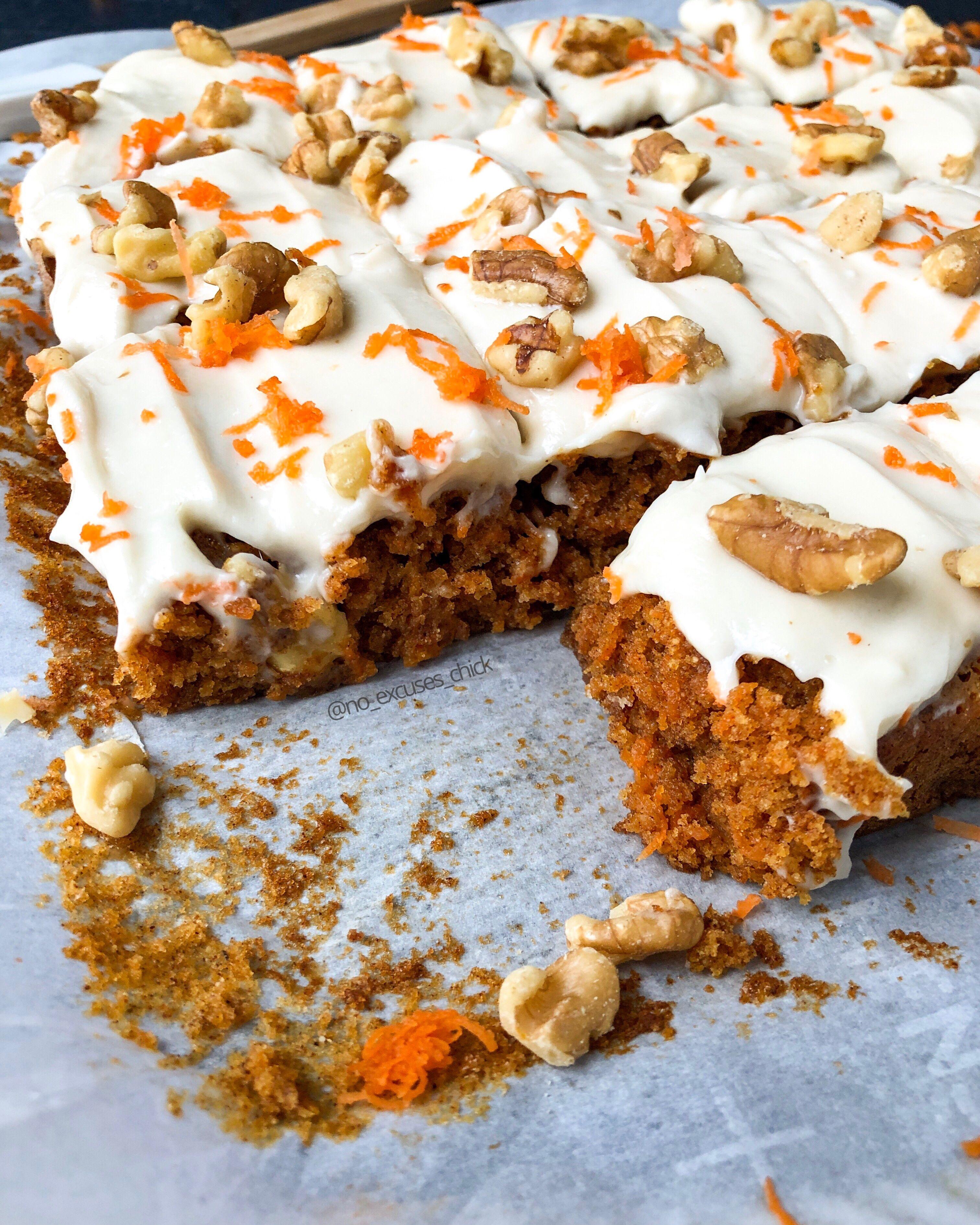 Collagen protein carrot cake paleo no excuses