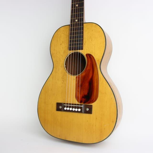 1950s Harmony H162 3 4 Natural Guitars