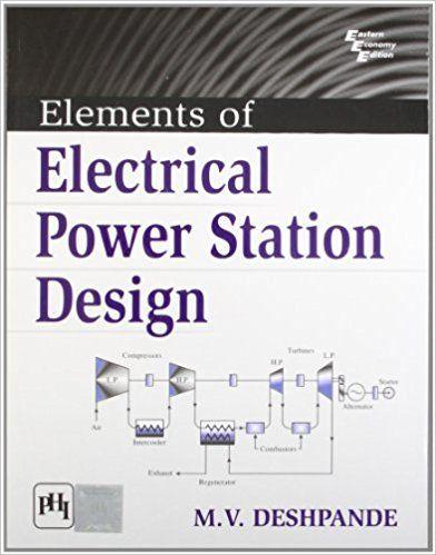Elements of Electrical Power Station Design M V Deshpande - cable load calculation spreadsheet