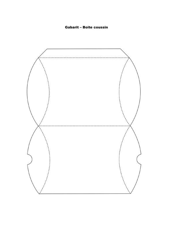 gabarit boite par manon fichier pdf pliages pinterest bo te cadeau b b. Black Bedroom Furniture Sets. Home Design Ideas