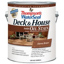 Thompsons Water Seal Deck House Oil Stain Solid At Menards Deck Stain Colors Staining Deck House Deck