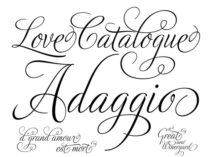 Free calligraphy fonts script a huge thank you to