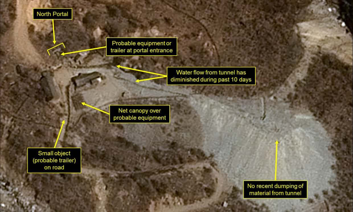 North Korea nuclear test site has collapsed