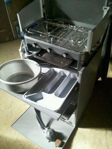 Campervan / camper van interior removable cooker / kitchen unit inc water & gas   eBay