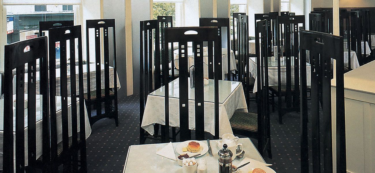 Glasgow Mackintosh : Attraction : The Willow Tea Rooms