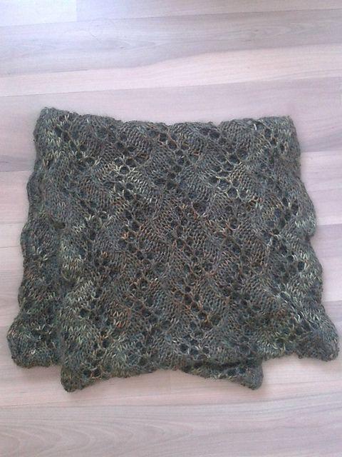 Free Pattern: Soft Stream Lace Cowl by Leyla Alieva   Jewelry ...