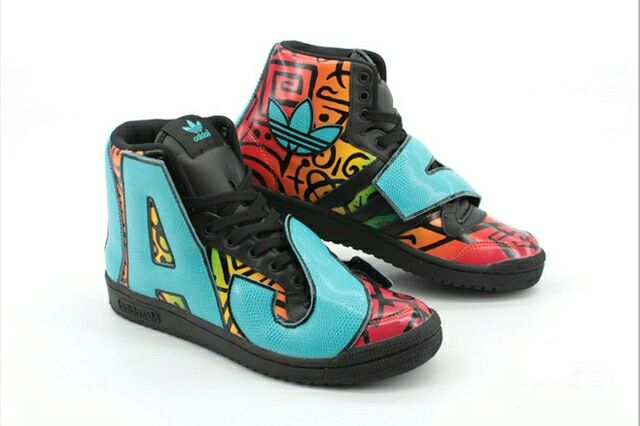 adidas jeremy scott letters shoes