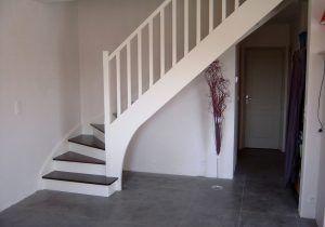Merveilleux Escalier Peint En Gris Et Blanc 20 Inspirations D Co Pour L Escalier Et  Escalier En