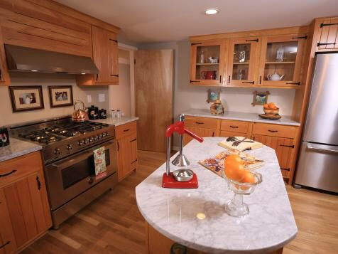 Nicole Curtis Grandparents House Kitchen Remodel I Just Love These Cabinets Rehab Addict Nicole Curtis Knotty Pine Kitchen