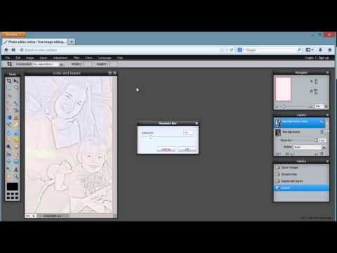 Pixlr Tutorial Create A Coloring Book Page From A Personal Photo Coloring Books Pixlr Tutorial Kids Coloring Books