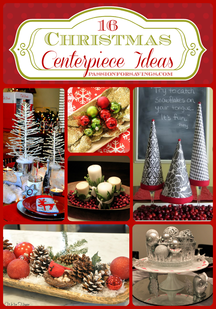 Delightful I Love Having A Great Centerpiece On The Christmas Dinner Table. Here Are  16 Great Christmas Centerpiece Ideas! Awesome Design