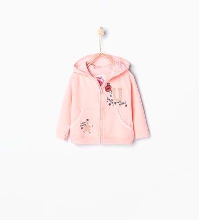 Imagem 1 de Sweatshirt capuz bolsos da Zara