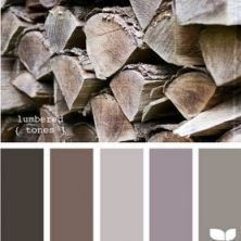 hygge-color-palette-wood-soft-cozy #graybedroomwithpopofcolor