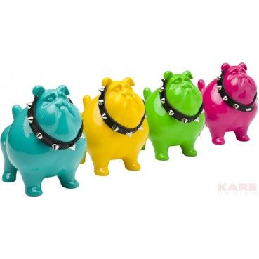 Kare Click tirelire bulldog spike pm kare design