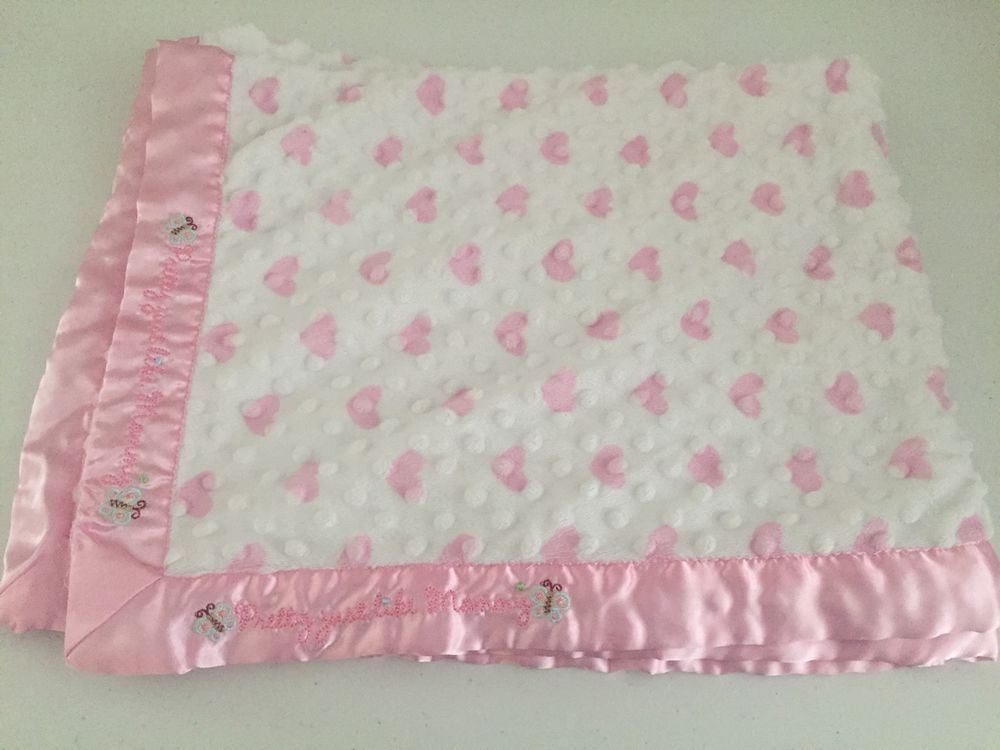 Beautiful girls WHITE//PINK  baby  shawl ***NEW***