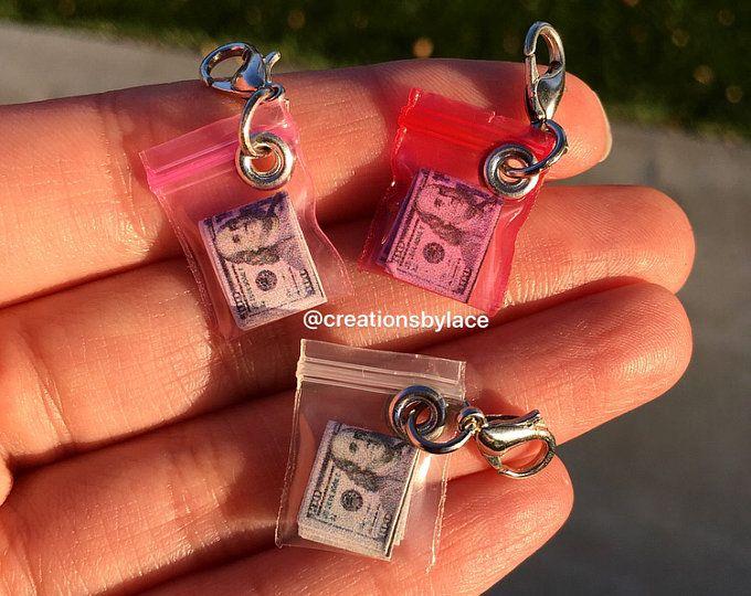 Handgemachte authentische Miniatur Unkraut Taschenanhänger (FAKE Unkraut) #miniaturedolls
