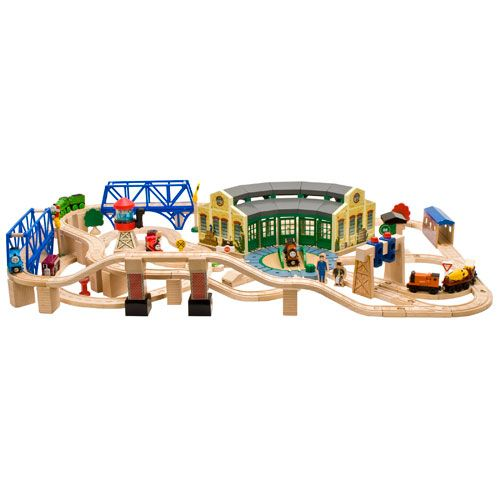 Tidmouth Sheds Deluxe Set Roundhouse Set Thomas And Friends Trains Thomas The Tank Engine Thomas And Friends