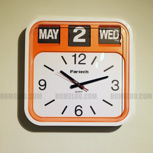 Robot Check Wall Clock Clock Retro Clock