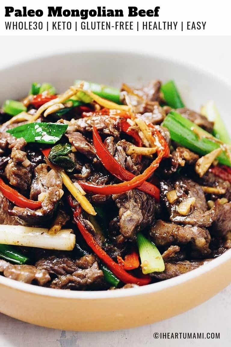 Photo of Sizzling Hot Healthy Mongolian Beef (Paleo, Whole30, Keto)