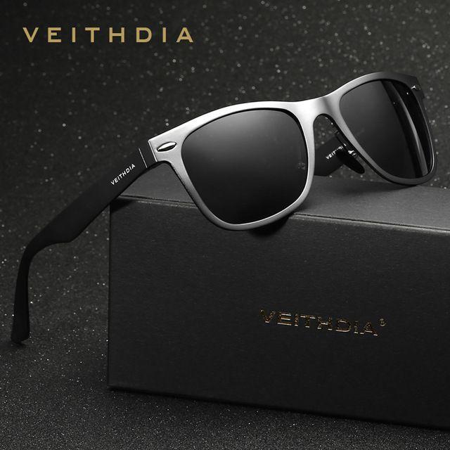 VEITHDIA - Lunettes de soleil - Homme Argenté Silver frame 0xDUV