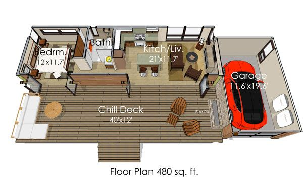 Why House Plans Are Getting Smaller | Small house plans, Smallest ...