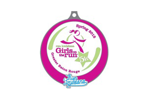 Run Louisiana Girls on the Run 5k Finishers Medal