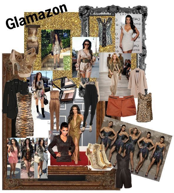 Glamazon: taking a softer sexier feel with earthy tones, animal prints, body con dresses, embellished tops.. Bringing a sexy spin on a safari summer look