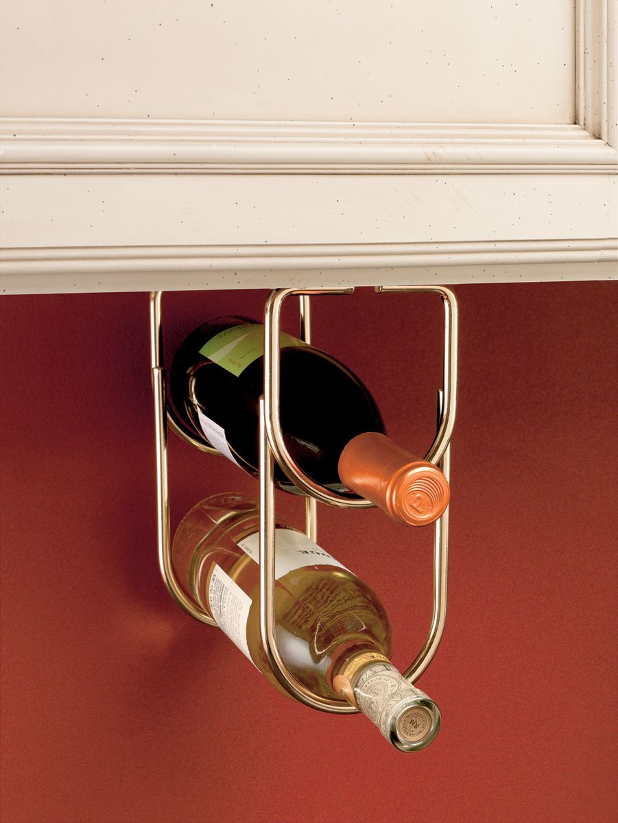 Unable To Get The Custom Cabinet Wine Rack Take A Look At This Wire