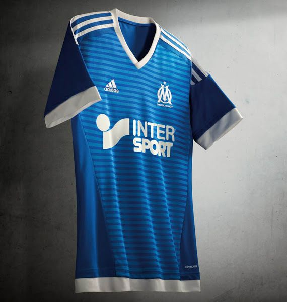 f1a9dd3f4 OLYMPIQUE MARSEILLE 2015-2016 THIRD KIT. Olympique Marseille 15-16 Kits  Revealed - Footy Headlines Adidas Kit, Football ...