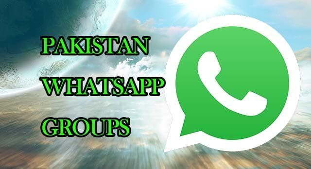 Join 102+ Pakistan WhatsApp group links list 2019 | Tread Topic