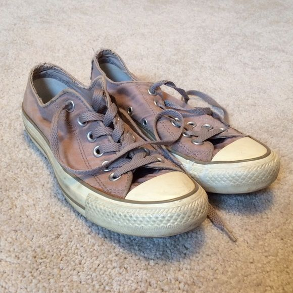 Converse AllStar Shoes Nude/Muave