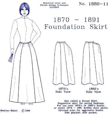 Check out https://www.mantua-maker.com! Victorian bustle skirt ...