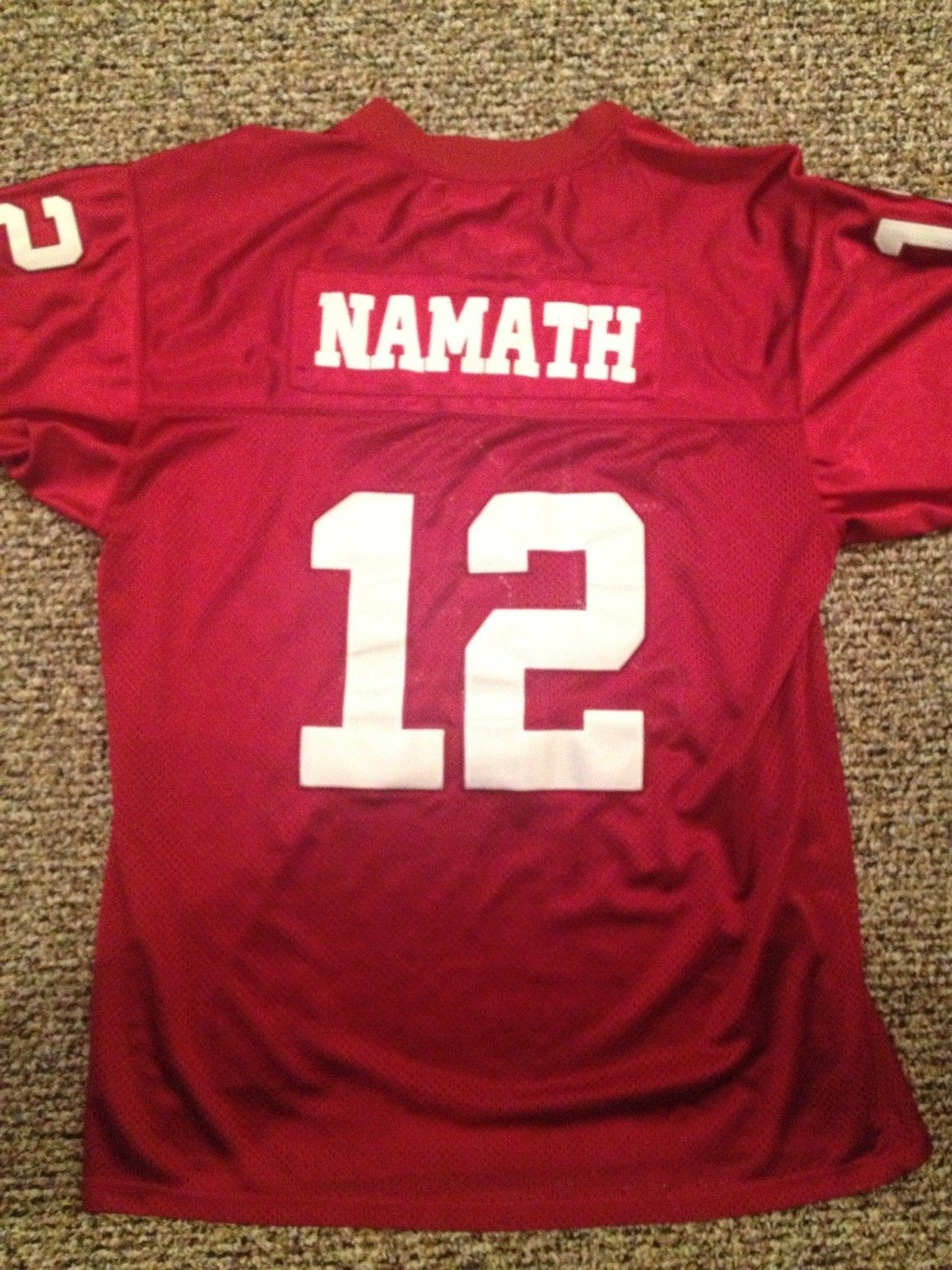 low cost b669a 9549b Pin by Glenn Coe on THROWBACK Game Jerseys | Alabama ...