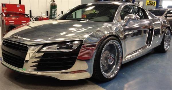 Chrome Sprayed Audi