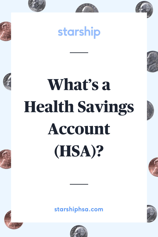 What S A Health Savings Account Health Savings Account Savings