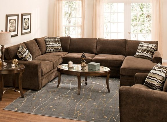Artemis Ii 4 Pc Microfiber Sectional Sofa Sectional Sofas