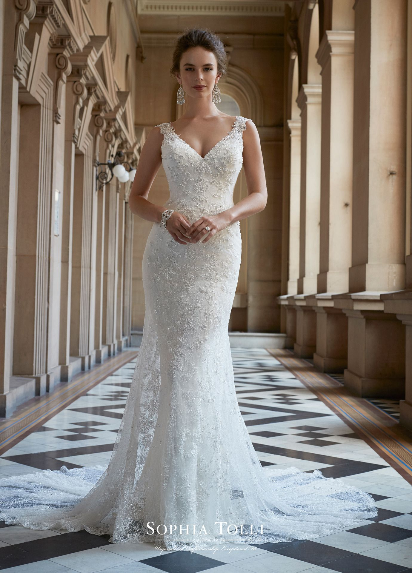 8ed5eb73a Sophia Tolli  Y21762 Zaniah Wedding Dresses Slim Fit