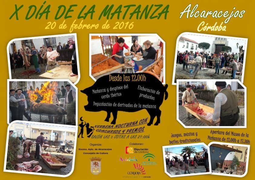 X Día de la matanza del cerdo, Alcaracejos