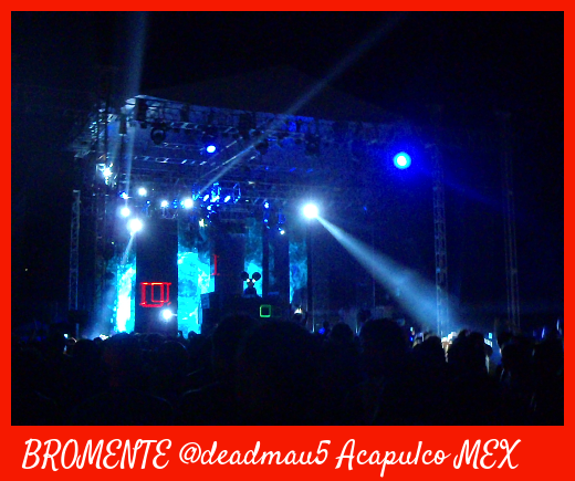 Deadmau5 concert, 4th January,2012 Acapulco,Mexico