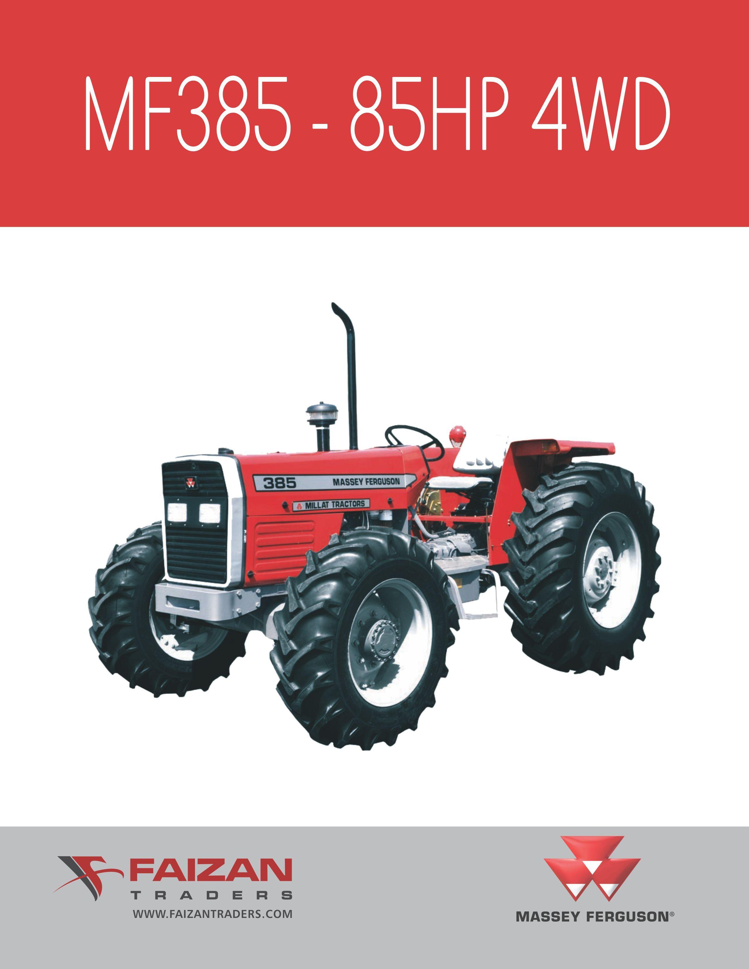 Farm tractors farm implements tractors accessories material handling import massey ferguson 385 4wd tractor from pakistan fandeluxe Gallery