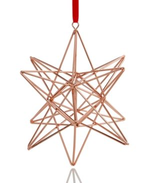 Holiday Lane 3d Star Christmas Ornament Created For Macy S Star