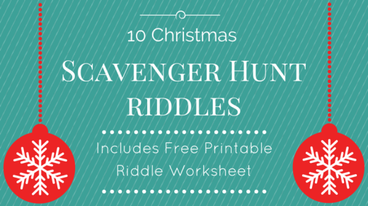 10 Christmas Scavenger Hunt Riddles