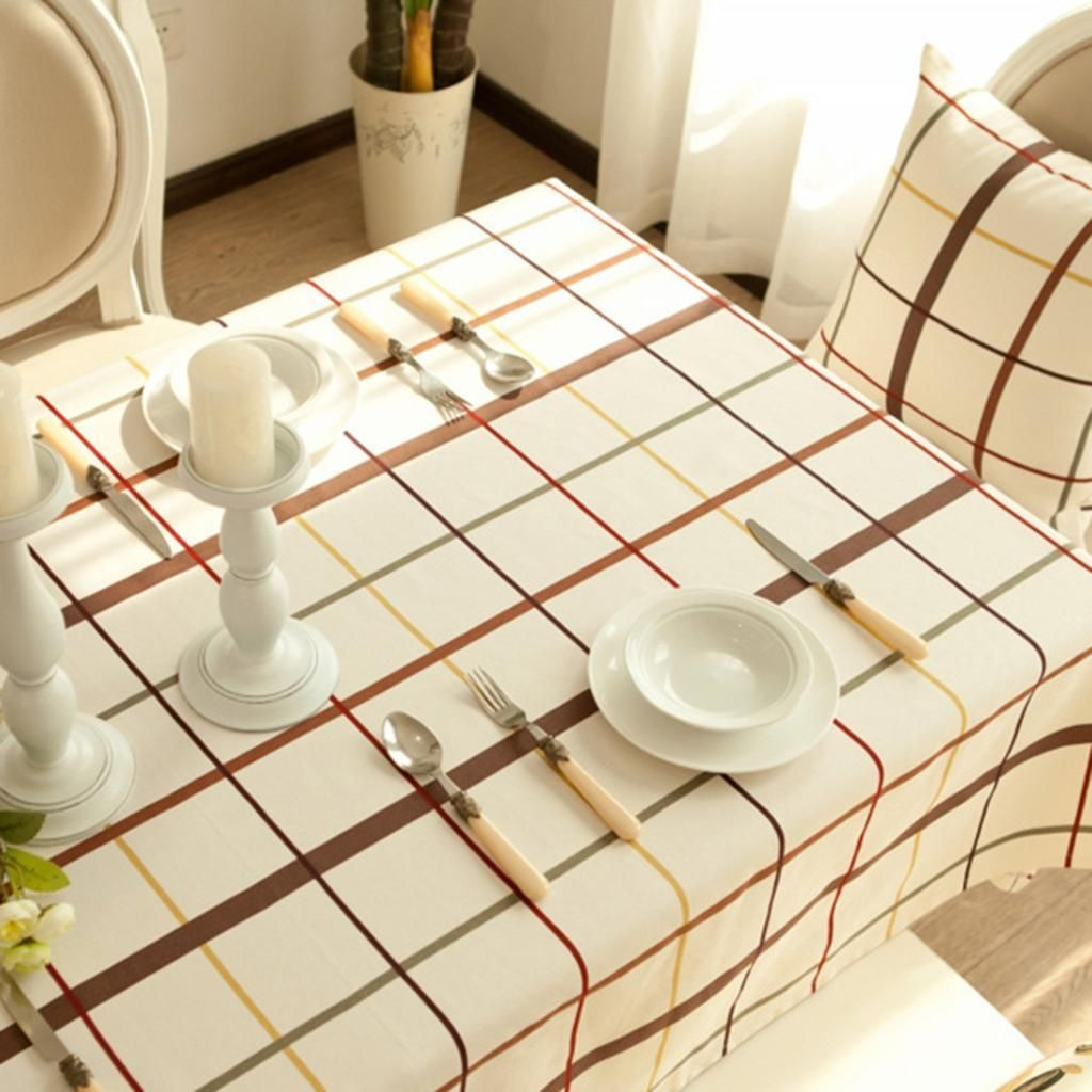 2017 Simple Pretty Home Table Decor House Customed Tablecloth Cover ...