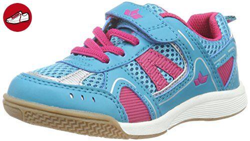 Lico Mädchen Cool Vs High-Top, Blau (Blau/Pink/Grau), 38 EU