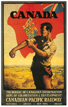 Canada Poster  www.sappho.dk